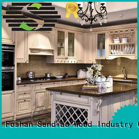 Promotion modular kitchen cabinets classical Exhibition hall