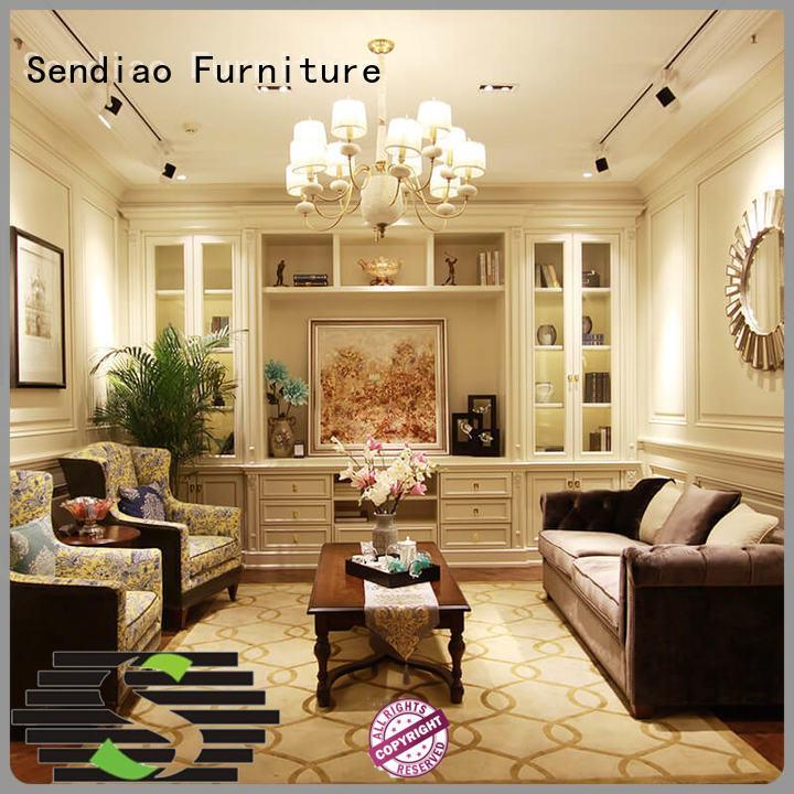 small decorative cabinet living display full Warranty Sendiao Furniture