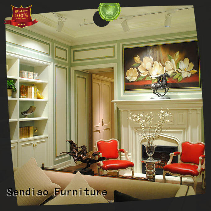 Sendiao Furniture low price decorative wall molding panels low price Three-star Hotel