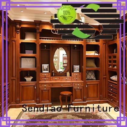 elegance wooden clothes closet elegance Chateau Sendiao Furniture