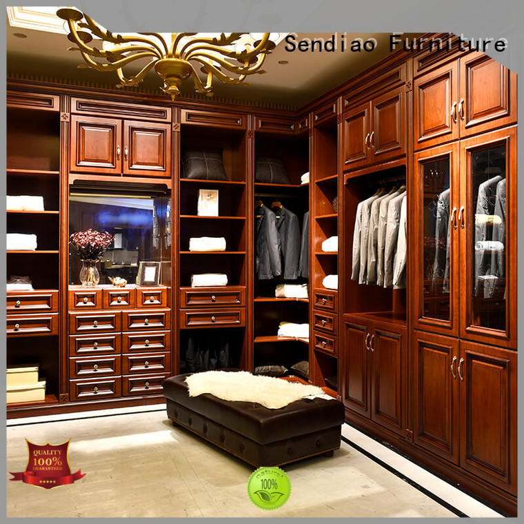 Sendiao Furniture syle bespoke wardrobe Promotion Exhibition hall