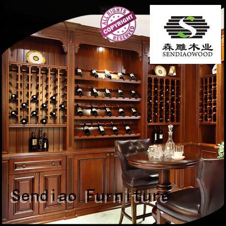 white wine cabinet solid cabinet antique Sendiao Furniture Brand company