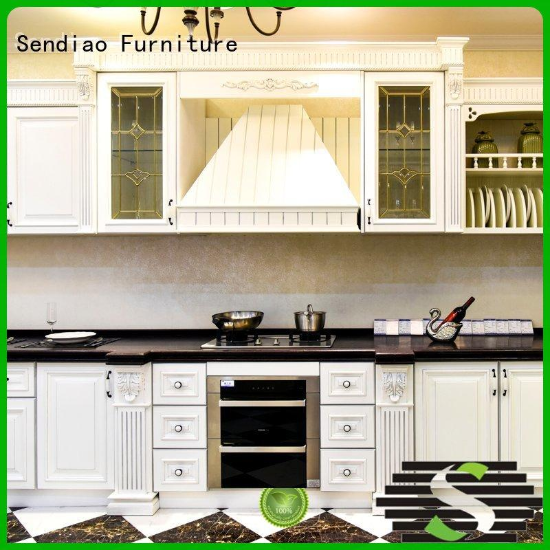 Sendiao Furniture sdk04 laminate kitchen cabinets New products Study