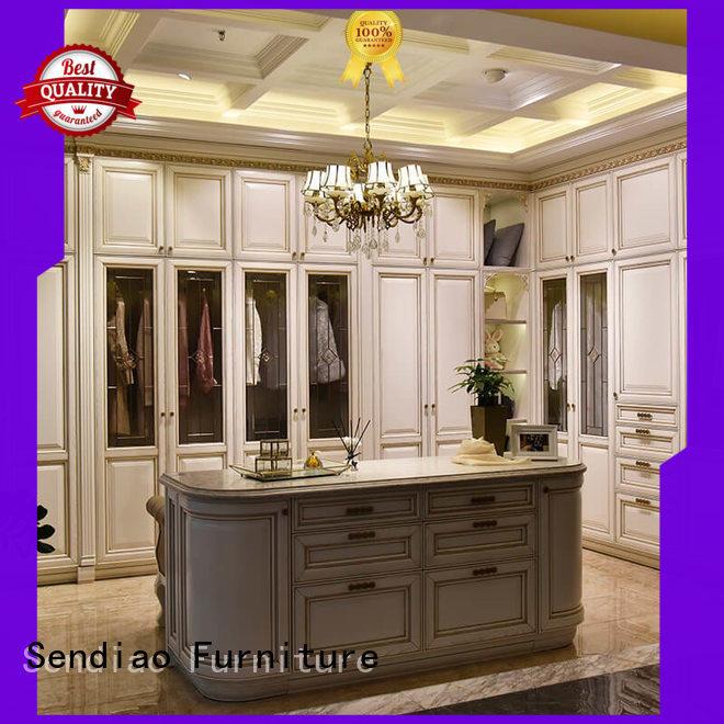 Sendiao Furniture The latest generation cheap wooden wardrobe wood Fivestar Hotel