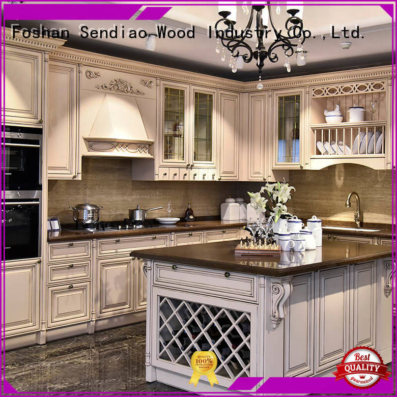 sdk08 wooden cupboard Promotion Bedroom Sendiao Furniture
