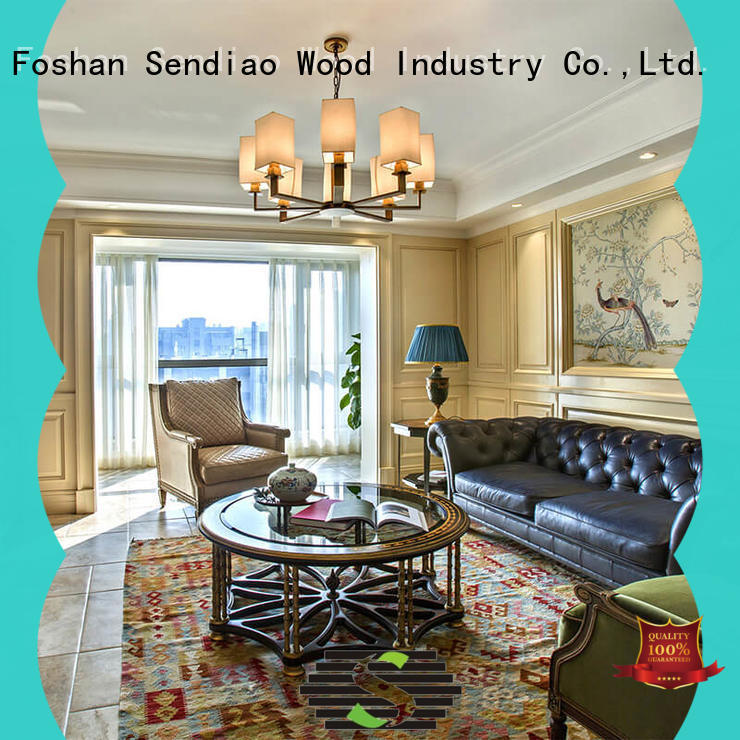 Sendiao Furniture wall decorative wood molding for walls supply fivestar hotel