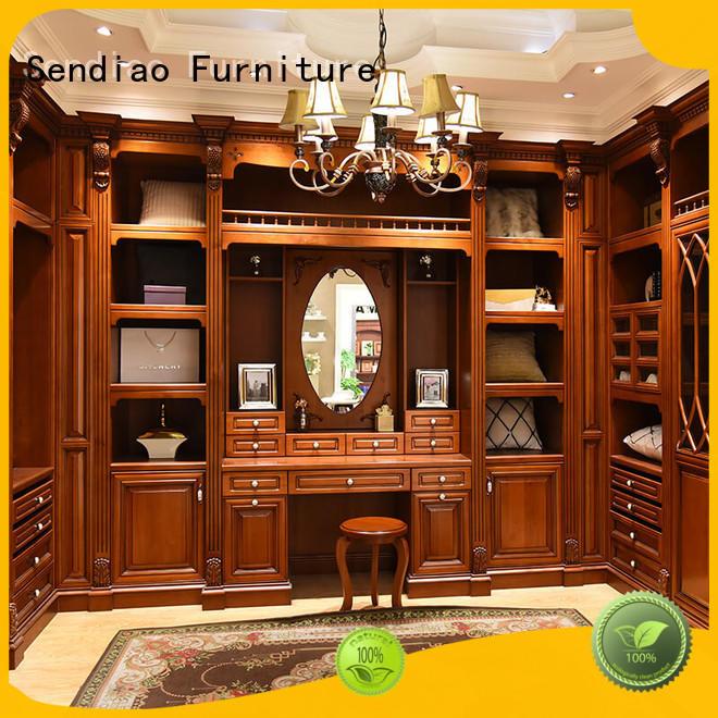 Sendiao Furniture wardrobe bespoke wardrobe Suppliers fivestar hotel