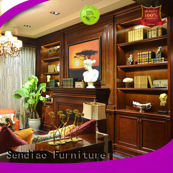 Sendiao Furniture tv decorative wooden cabinet factory fivestar hotel