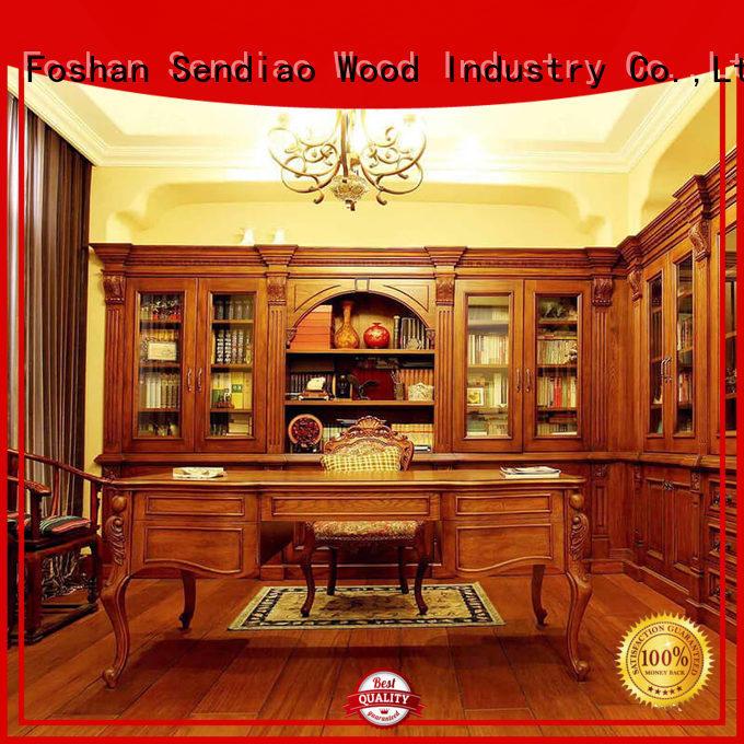Sendiao Furniture American style bespoke bookshelves manufacturers a living room