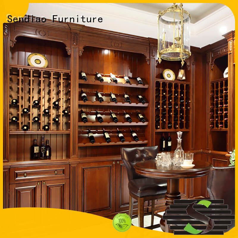 American style oak wine cabinet The latest generation Chateau