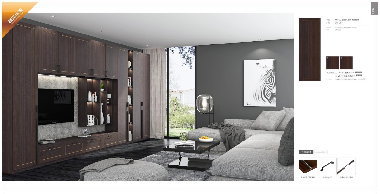 Sendiao Furniture Custom bespoke bookshelves Suppliers chateau-3