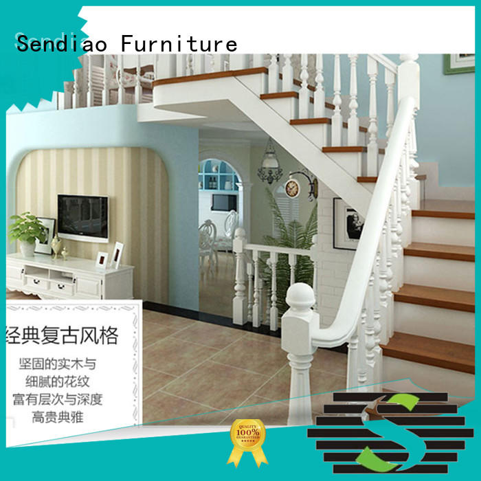 Sendiao Furniture stair wooden staircases Simplicity Fivestar Hotel