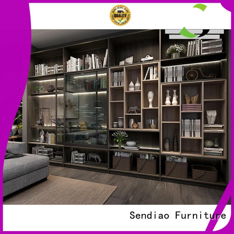 Sendiao Furniture Latest bespoke bookshelves for business bedroom