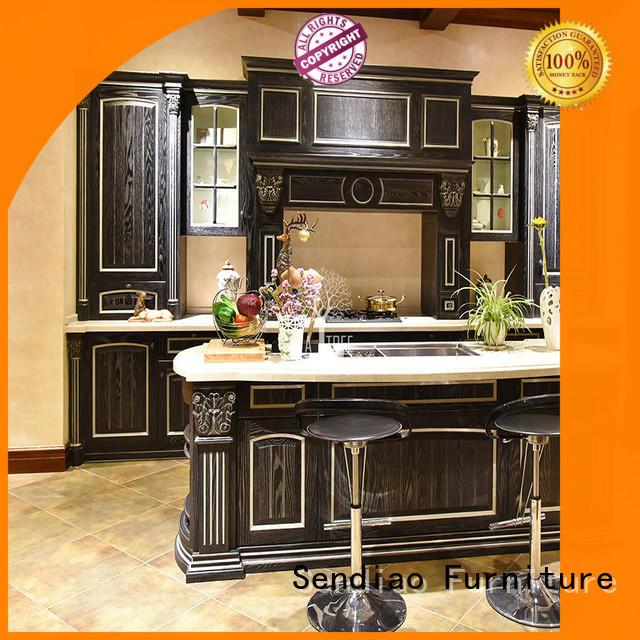Sendiao Furniture High-quality bespoke kitchen cabinet factory three-star hotel