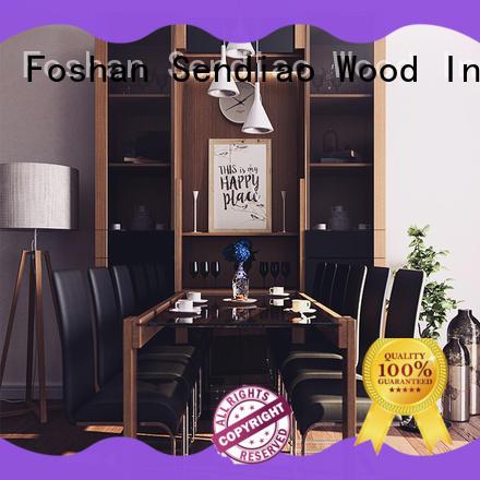 Sendiao Furniture classical wooden bookcase manufacturers chateau
