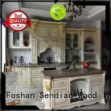 design solid wood kitchen cupboards New products Chateau