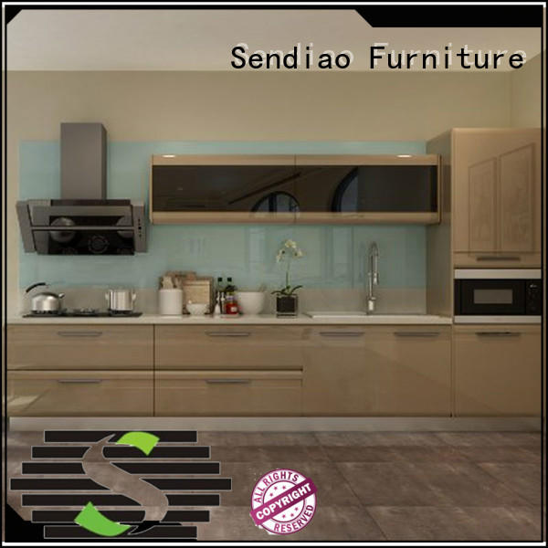 Sendiao Furniture luxury bespoke kitchen cabinet American style Bedroom