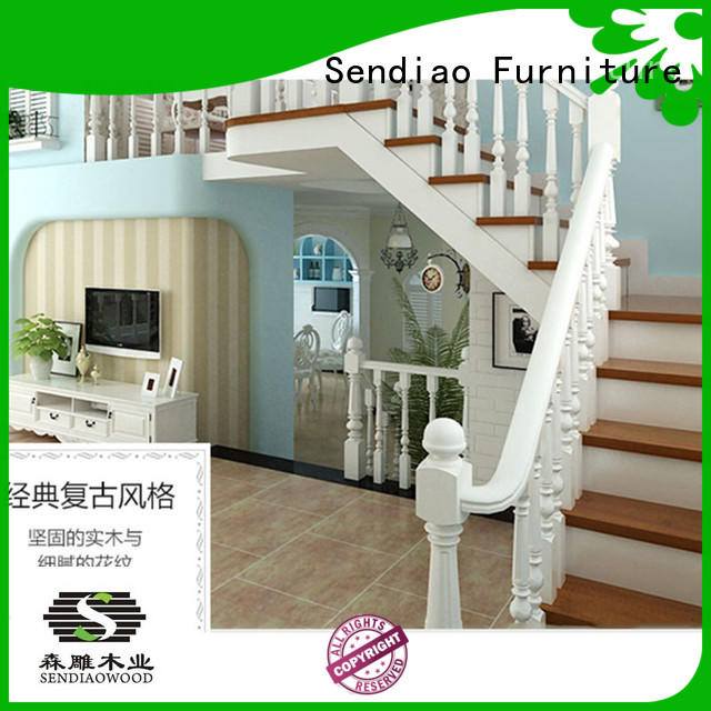 sds01 wooden spiral staircase sds03 Four Star Hotel Sendiao Furniture