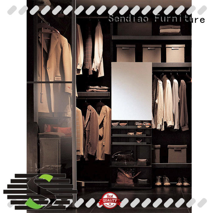 Sendiao Furniture joinery wooden clothes wardrobe factory bedroom