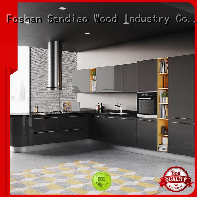 Sendiao Furniture artificial custom made kitchen cabinets elegance Chateau