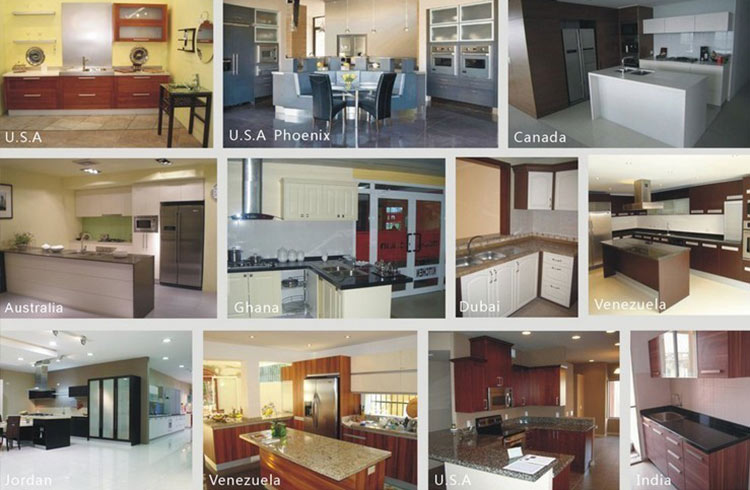Sendiao Furniture Promotion custom wood kitchen cabinets The latest generation Chateau-16