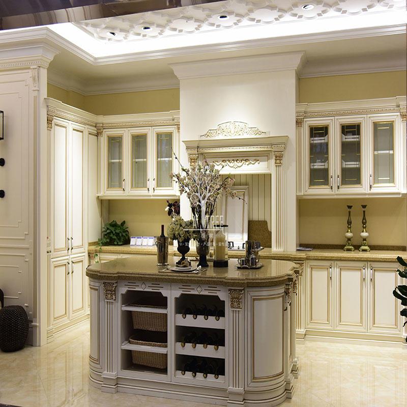 China kitchen cabinet factory design kitchen cabinet SD-K08