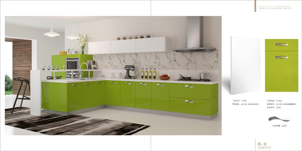 Sendiao Furniture Simplicity solid wood kitchen cabinets for business study-4