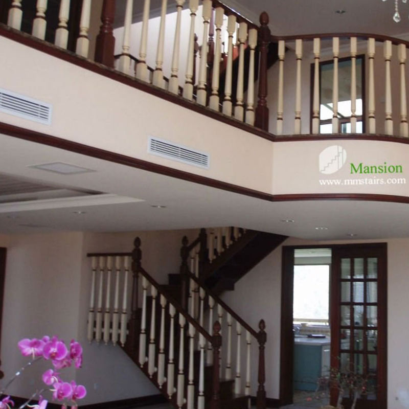 Sendiao Furniture New wooden staircases manufacturers three-star hotel-5