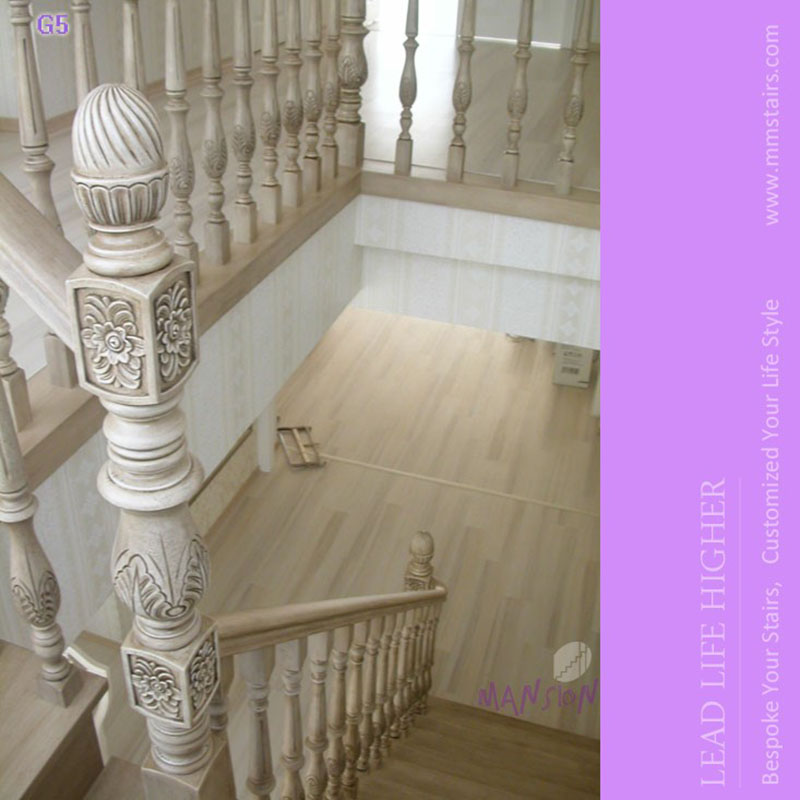 Sendiao Furniture New wooden staircases manufacturers three-star hotel-7