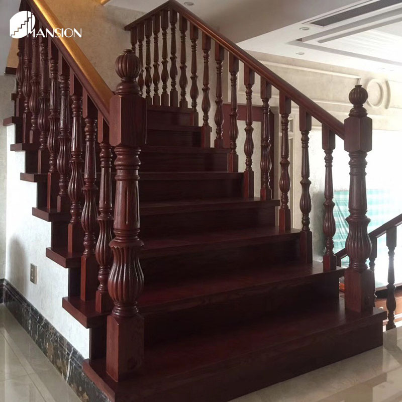 Sendiao Furniture New wooden staircases manufacturers three-star hotel-6