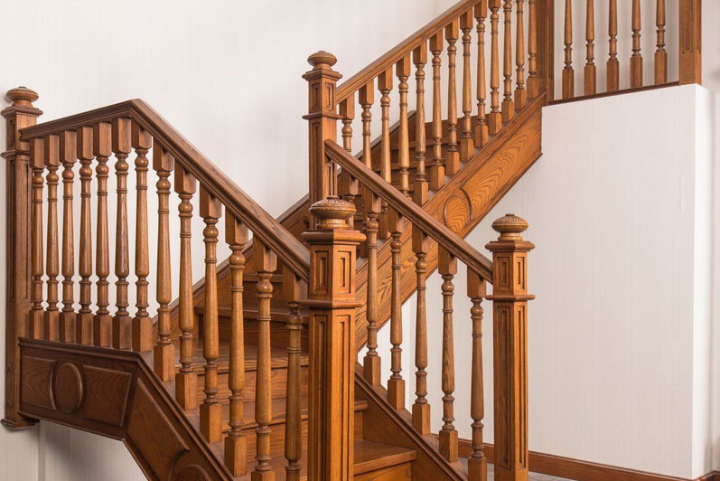 Sendiao Furniture spiral bespoke wooden staircases manufacturers three-star hotel-7