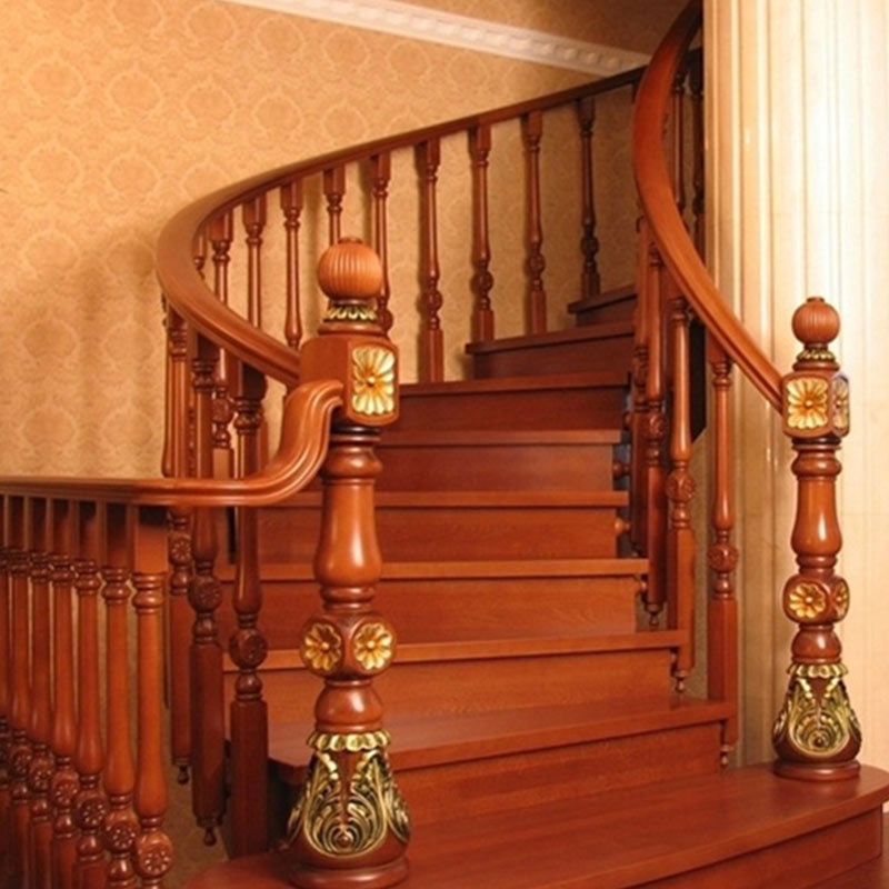 Sendiao Furniture spiral hardwood stairs Suppliers three-star hotel-4