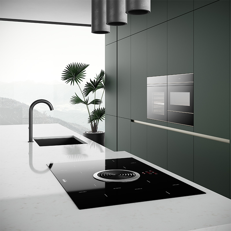 Sendiao Furniture New custom wood kitchen cabinets Supply study-3
