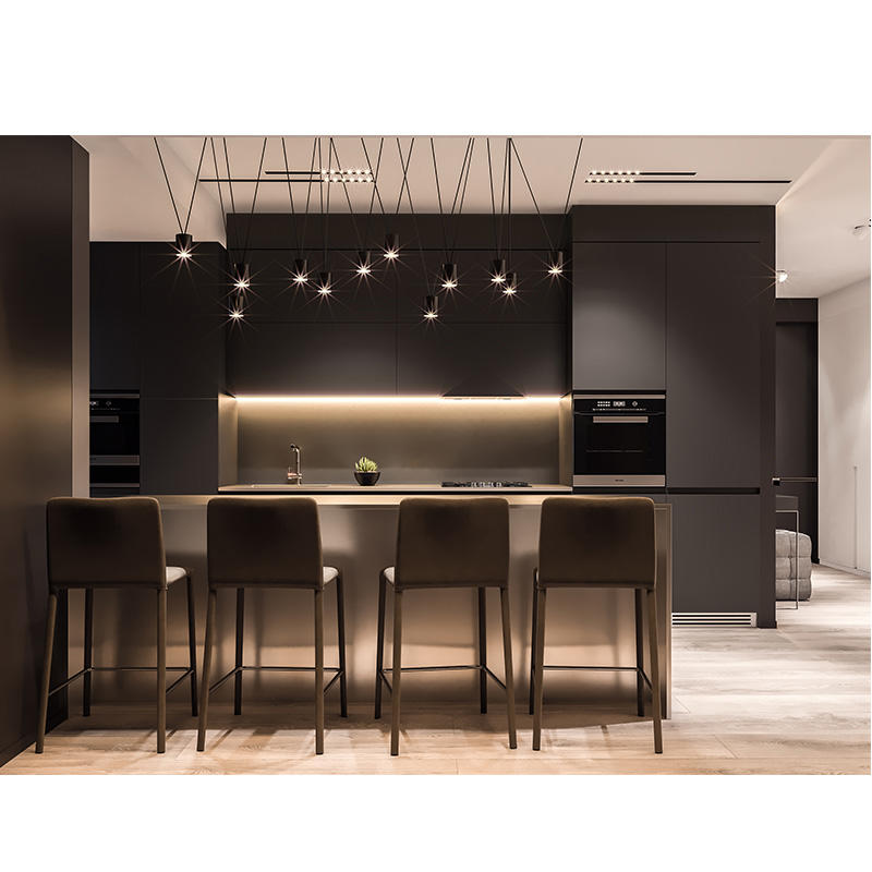 Metallic Lacquer modern design hot selling kitchen cabinet