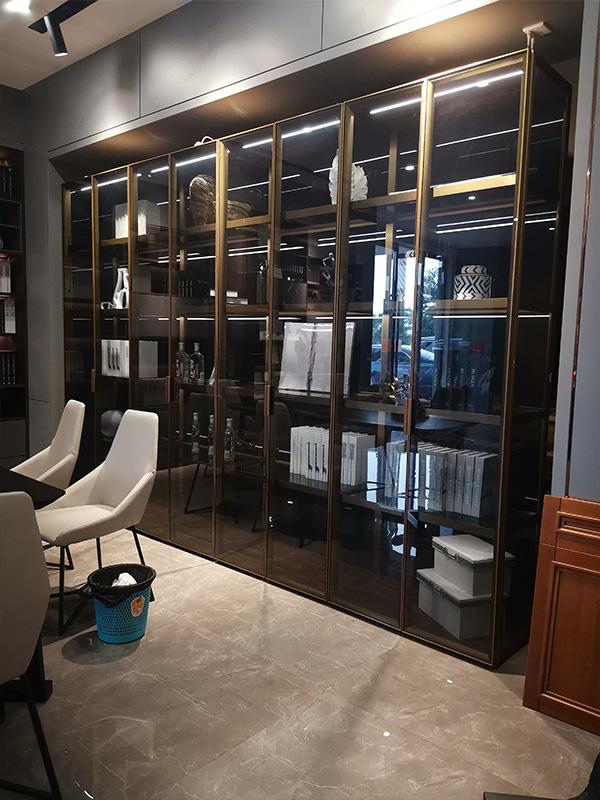 Best wooden bookcase advanced for business fivestar hotel-3