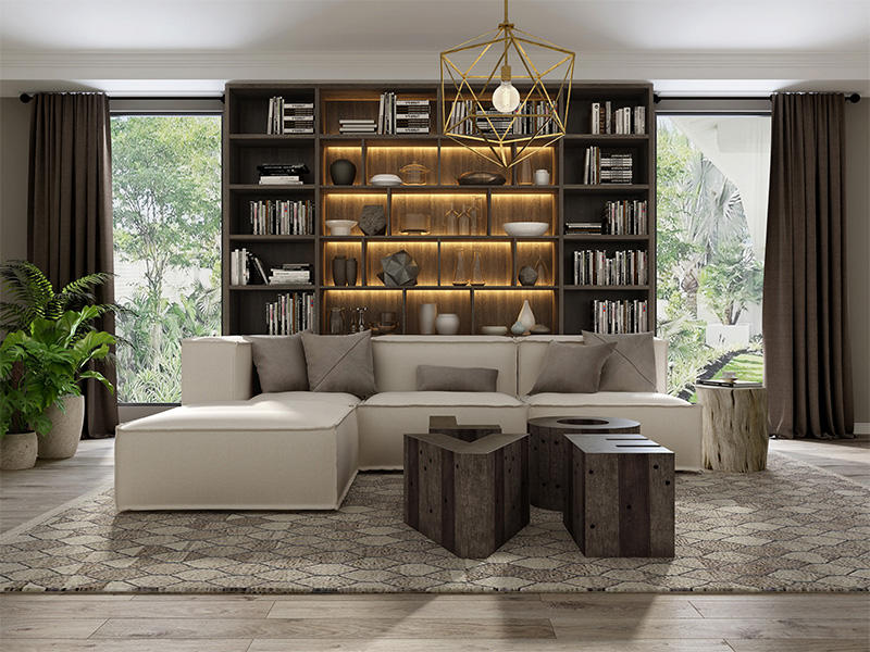 Sendiao Furniture Wholesale bespoke bookshelves for business fivestar hotel