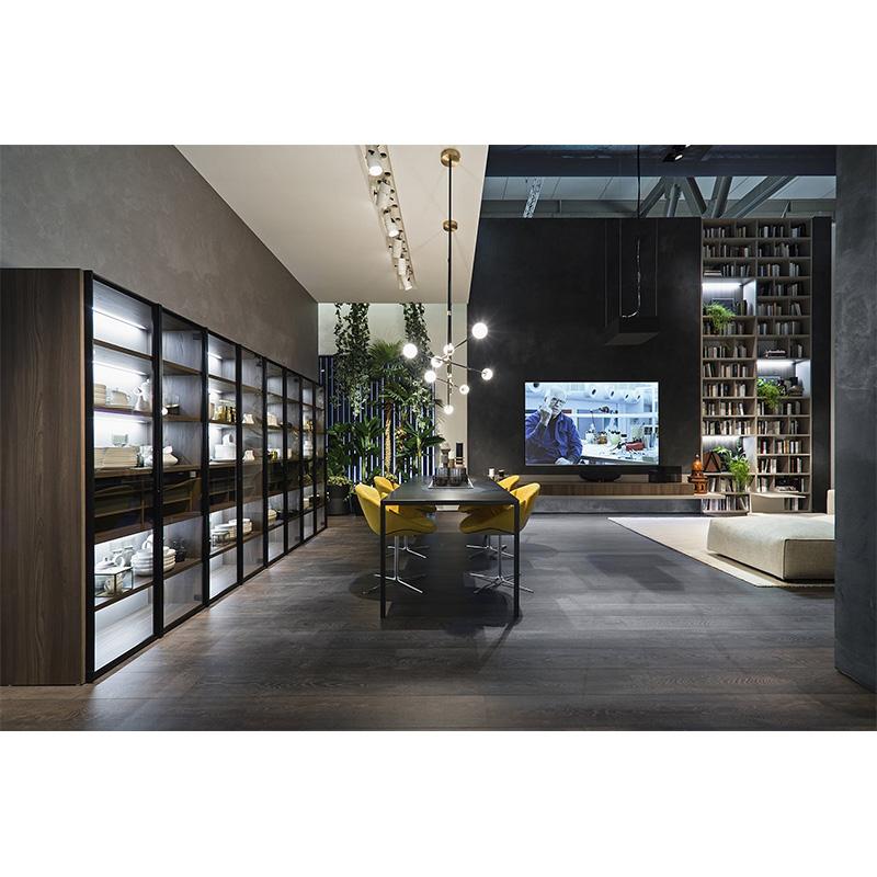 High-quality bespoke bookcases threepiece Supply fivestar hotel-3