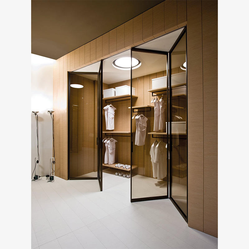 Maple color with 2 doors 2 mirror 2 drawers modern wardrobe closet designs