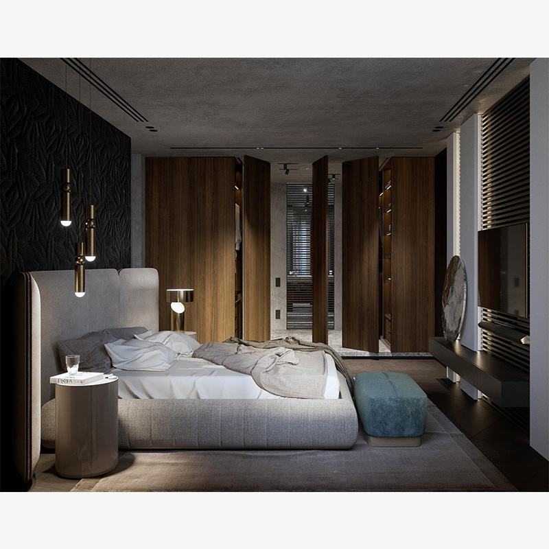 china Modern bedroom wardrobes simple design bedroom wardrobe design