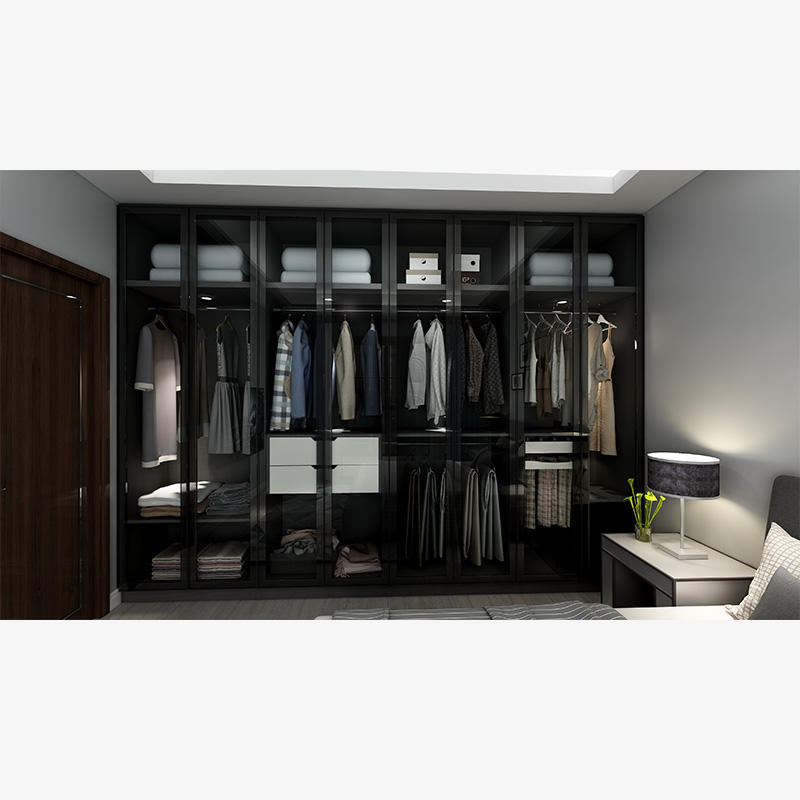 Modern Bedroom Hanging sliding door Wardrobe