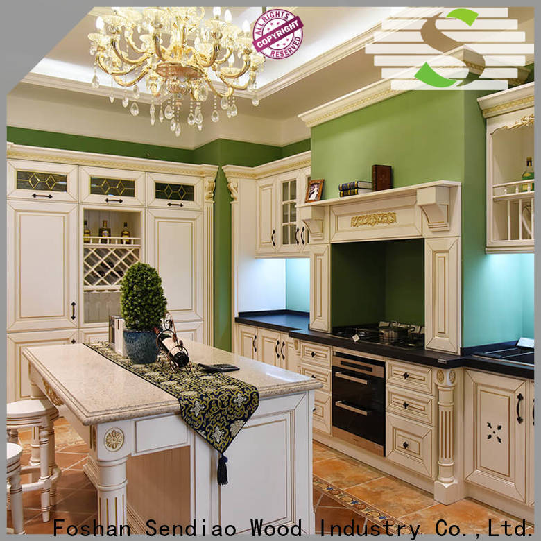 Sendiao Furniture Latest contemporary kitchen cabinets for business fivestar hotel