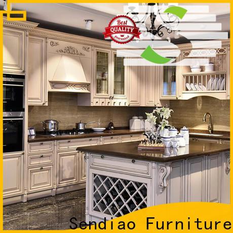 Sendiao Furniture Latest bespoke kitchen cabinet company four-star hotel