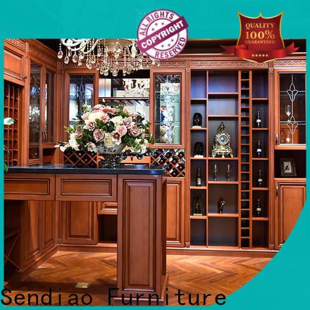 Sendiao Furniture Best bespoke wine cabinet factory bedroom