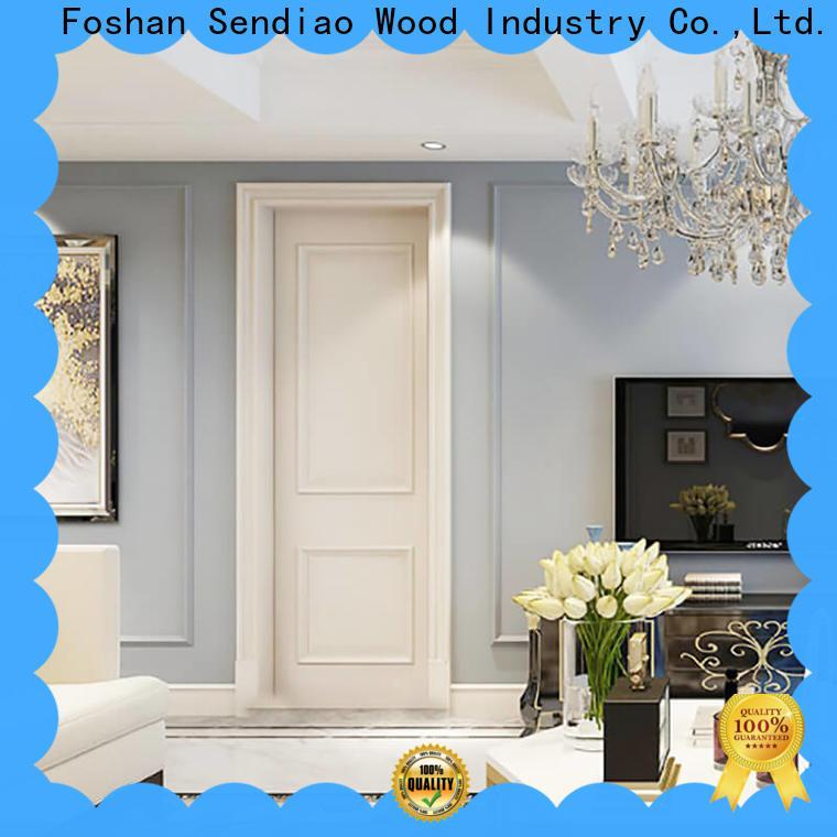 Sendiao Furniture Wholesale solid wood interior doors company a living room