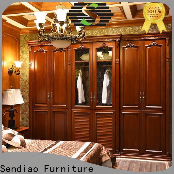 Sendiao Furniture syle bespoke wardrobe for business exhibition hall