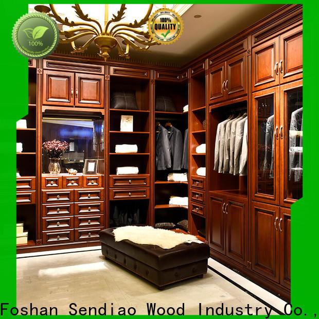 Sendiao Furniture Best wooden wardrobe closet for business fivestar hotel