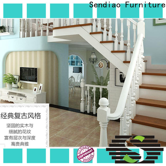 Sendiao Furniture solid bespoke wooden staircases company a living room
