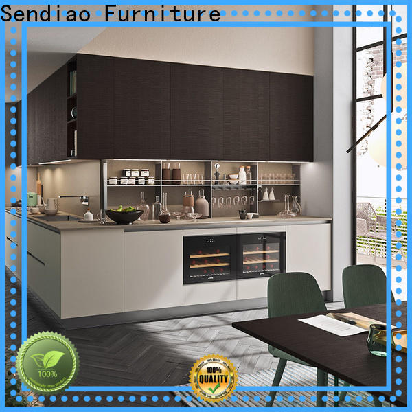 Sendiao Furniture french solid wood kitchen cabinets Supply fivestar hotel