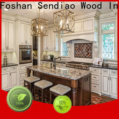 Sendiao Furniture Best custom wood kitchen cabinets manufacturers chateau