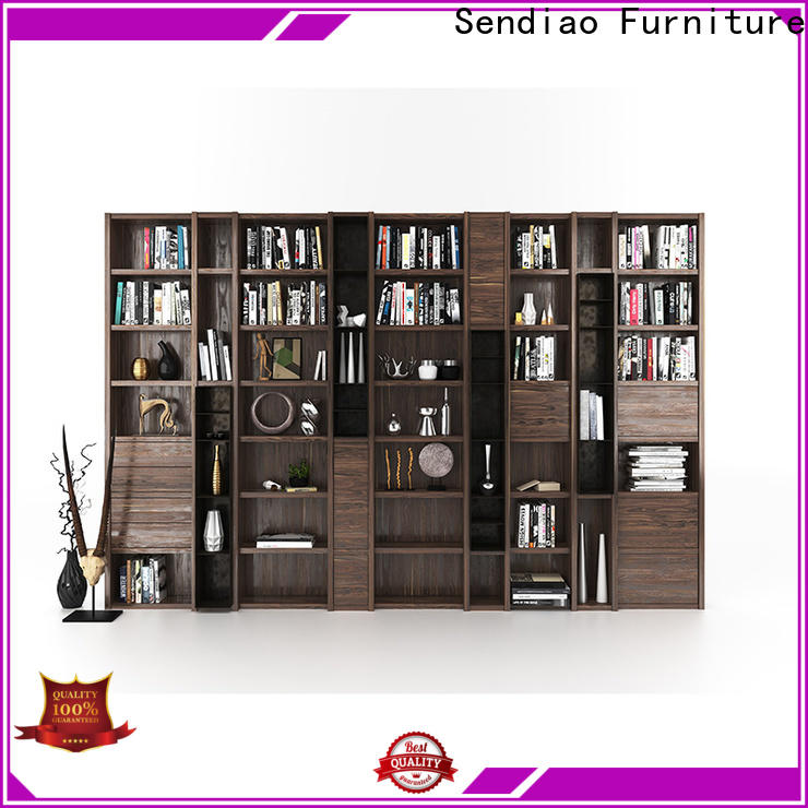 Top wooden bookcase three company study